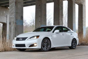 2011 Lexus IS-F Review