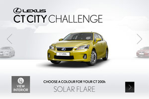 Lexus CT City Challenge Game