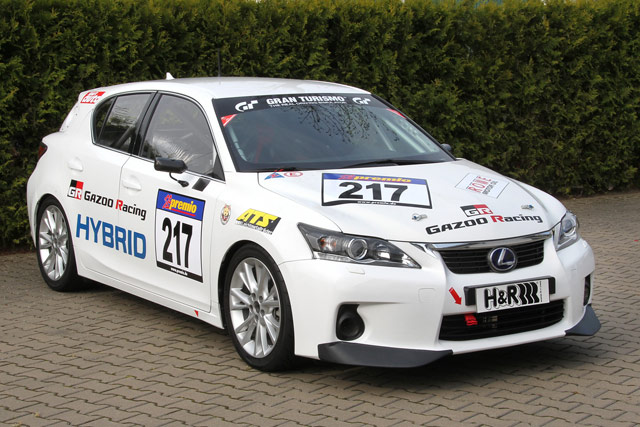 Lexus CT Gazoo Racing Nürburgring