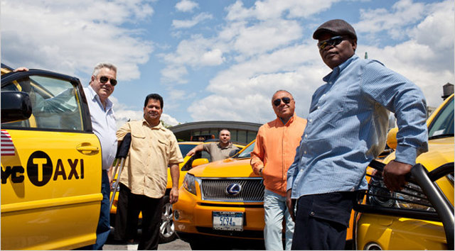 Lexus RX Taxis in New York City
