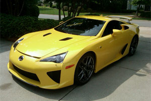 Lexus LFA Driven by Kyle Busch