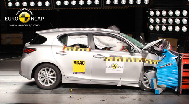 Lexus CT 200h Five Star Safety Rating