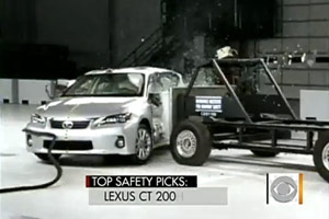 Lexus CT 200h Top Safety Pick
