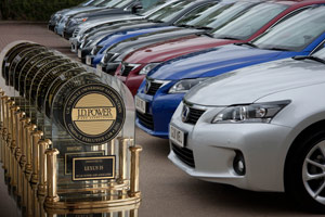 Lexus JD Power UK Awards Customer Satisfaction