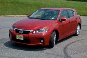 The Lexus CT 200h Review by MarketWatch