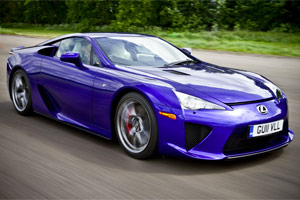 Lexus LFA UK Event