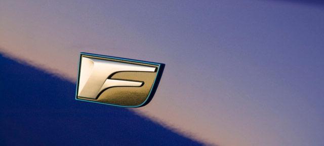 Lexus F Marque Badge