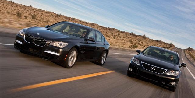 Lexus vs. BMW in Japan