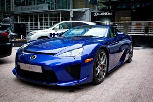 Lexus LFA at London Motor Expo
