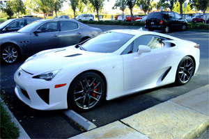 Larry Ellison is a Lexus LFA Owner