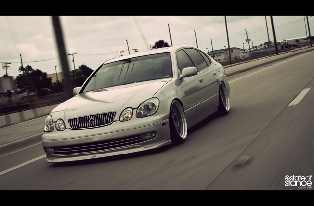 Lexus GS 300 State of Stance Rolling