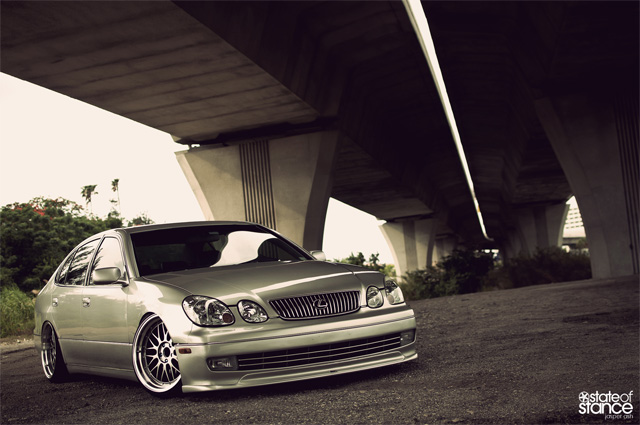 Lexus GS 300 State of Stance Front