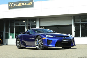 First Lexus LFA in Australia