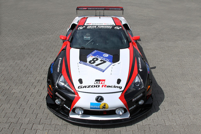 Lexus LFA in Full Nürburgring 24h Race Livery