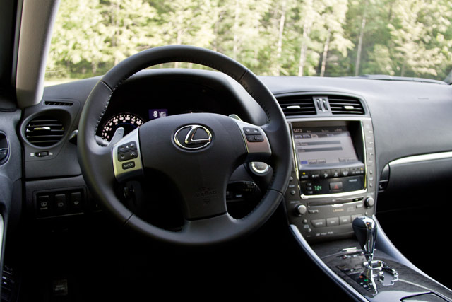 2011 Lexus IS 350 AWD Steering Wheel
