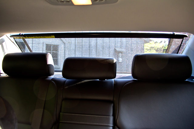 Lexus IS 350 AWD Rear Sun Shade
