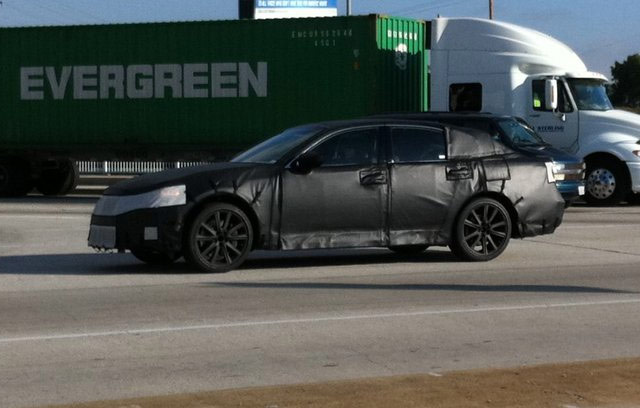 2012 Lexus GS Spotted