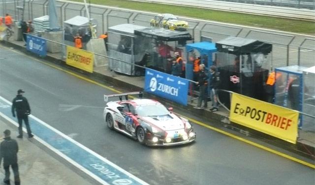 Lexus LFA Nürburgring 24h Race