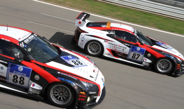 Lexus LFAs riding together