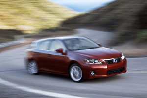 Motor Trend Reviews the Lexus CT 200h