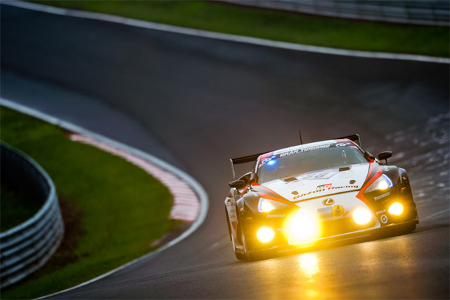 Lexus LFA #88 at Nürburgring 24h Race