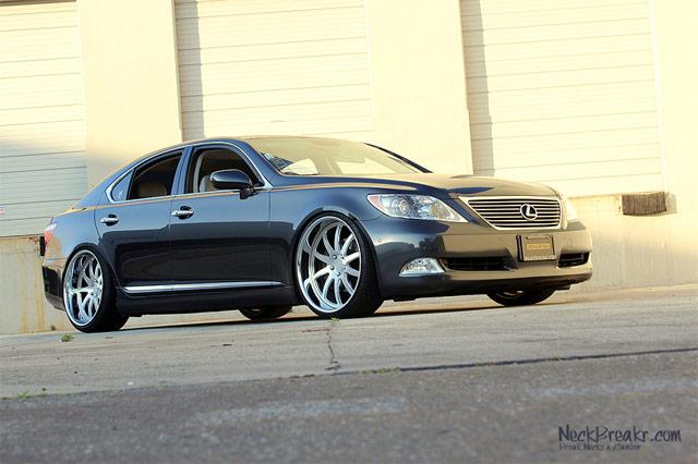 Lexus LS 460 on 22″ Phantom Forged Wheels | Lexus Enthusiast