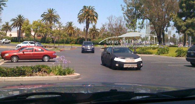 2012 Lexus GS Spy Shot Front