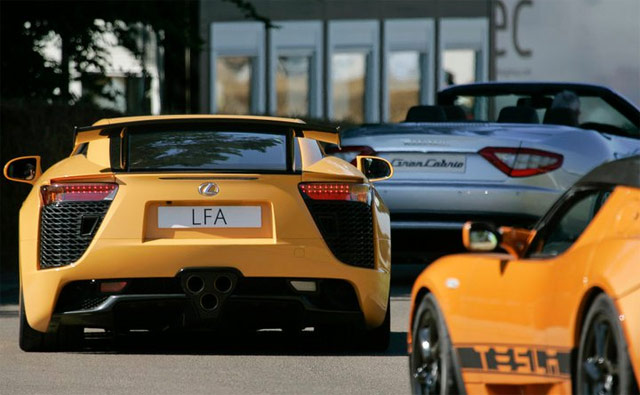Lexus LFA Nürburgring Edition at UK Goodwood Festival of Speed