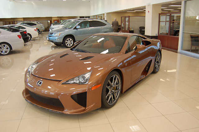 Lexus LFA for sale on eBay Herb Chambers