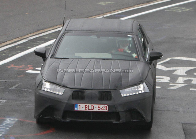2012 Lexus GS Front Spy Shot