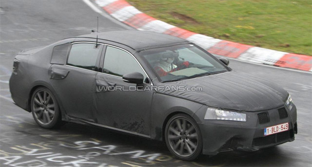 2012 Lexus GS Side Photos