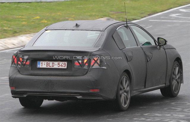 2012 Lexus GS F Sport Rear