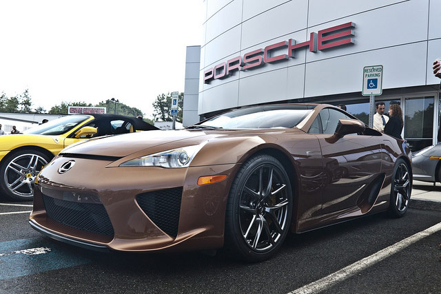 Pearl Brown Lexus LFA #095
