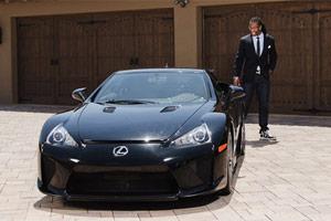 Lexus LFA Larry Fitzgerald Jr.