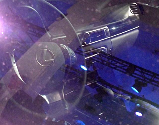 Lexus LF-Gh Interior Closeup