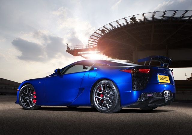 Lexus LFA 200 MegaPixel Camera Rear