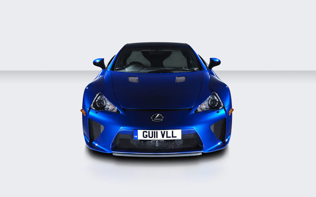 Lexus LFA 200MP Camera Front