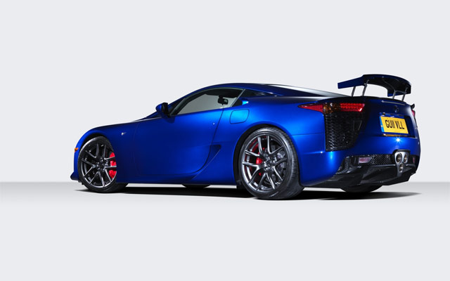 Lexus LFA Rear Wallpaper