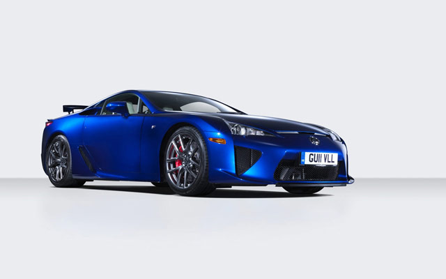 Lexus LFA Side Wallpaper