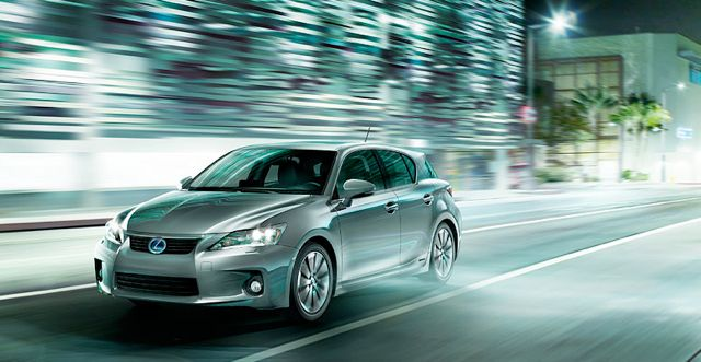 Lexus CT 200h in Europe
