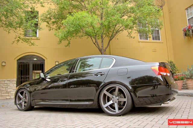 Lexus GS VVS-CV3 Vossen Wheels