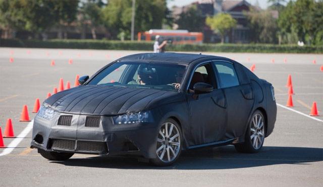 2012 Lexus GS 350 Cones