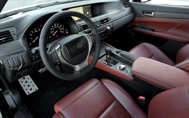 2012 Lexus GS Interior