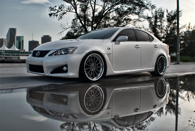 Lexus IS F AM Photography