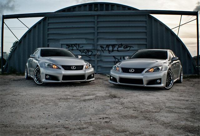 Lexus IS F Double Trouble