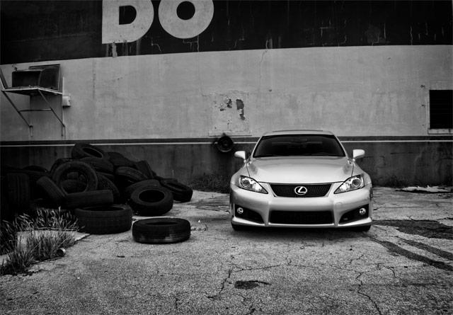 Lexus IS F Front AM Photography