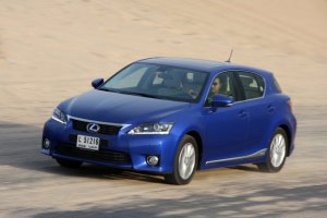 2011 Lexus CT 200h in Blue