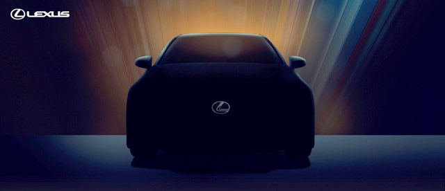 Lexus GS 350 Teaser
