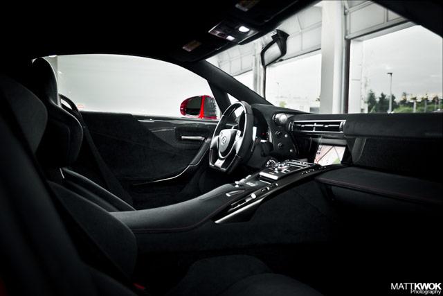 Pearl Red Lexus LFA #022 Black Interior