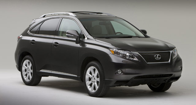 Lexus RX 350 in Smoky Granite Mica